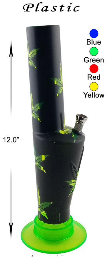 12 Inch Weed Plastic Water Pipe