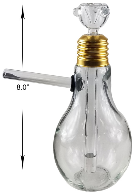 8 Inch Light Bulb Water Pipe