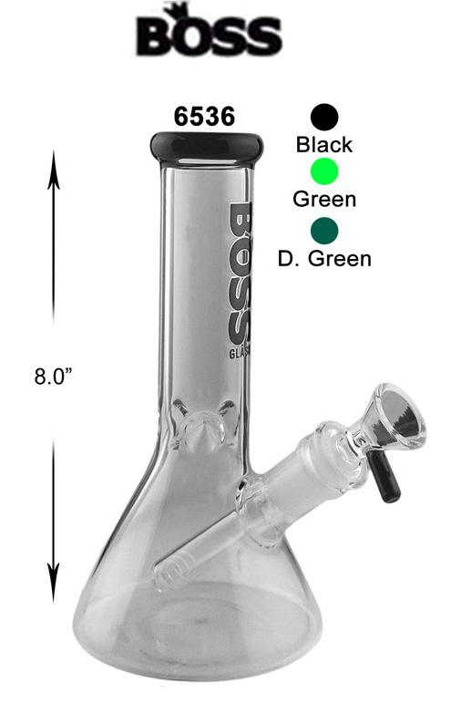 8 Inch Boss Glass Beaker Water Pipe