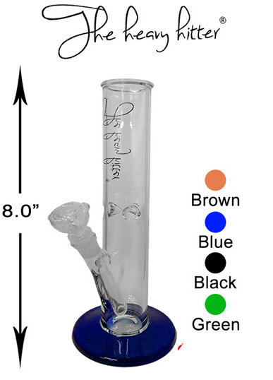 8 Inch The Heavy Hitter Straight Shooter Water Pipe
