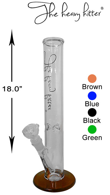 18 Inch The Heavy Hitter Straight Shooter Water Pipe