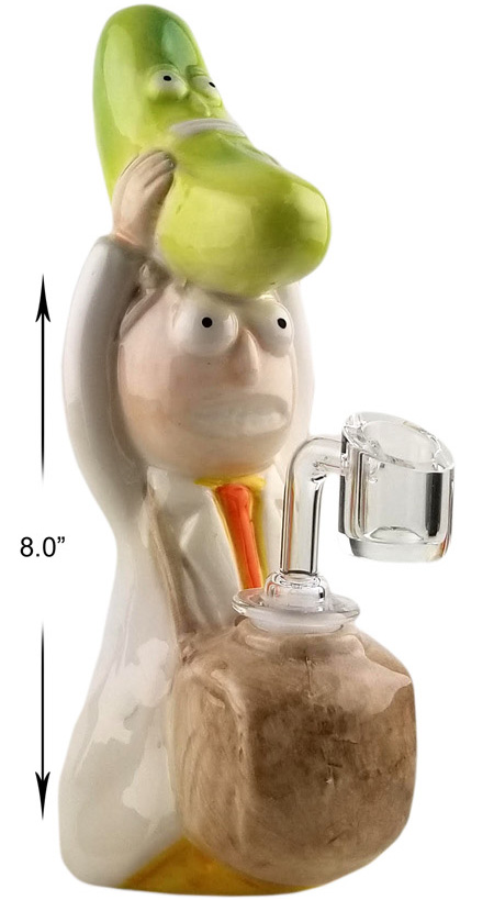 8 Inch Morty And Pickle Dab Rig